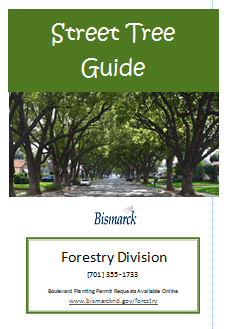 2016 Street Tree Guide Cover