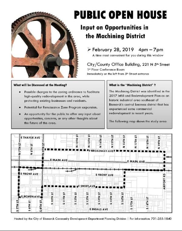 Machining District Open House Flyer