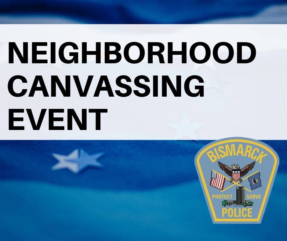 Neighborhood canvassing event today