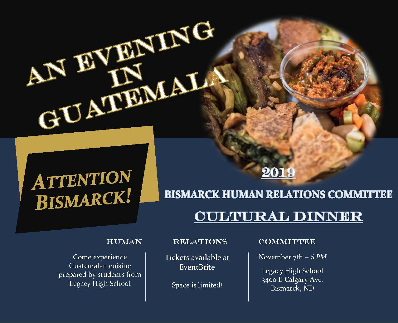2019 Human Relations Committee Cultural Dinner  Opens in new window