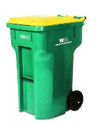 Residential Single-Sort Recycling Container