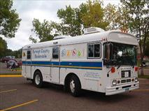 photo of the bookmobile