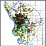 Four Mile Zoning Map 42 x 50